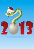 Φίδι 2013 Στοκ εικόνα με δικαίωμα ελεύθερης χρήσης