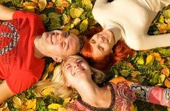 φίλοι τρία Στοκ Φωτογραφία