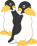 Φίλοι Penguin Στοκ Εικόνες