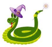 Φίδι με τη ράβδο Στοκ Εικόνες