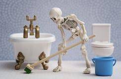 Φίλοι σκελετών Στοκ Εικόνα