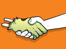 Φίλοι Zombie απεικόνιση αποθεμάτων