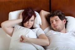 Φίλος Snoring Στοκ εικόνες με δικαίωμα ελεύθερης χρήσης