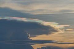 Φαινόμενα μορφής σύννεφων Στοκ Φωτογραφίες