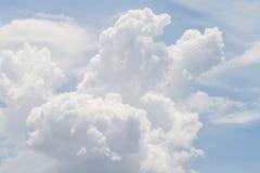 Φαινόμενα μορφής σύννεφων Στοκ Εικόνες