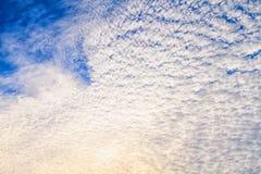 Φαινόμενα μορφής σύννεφων Στοκ Φωτογραφία
