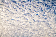 Φαινόμενα μορφής σύννεφων Στοκ Εικόνα