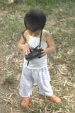 Φακοί καμερών ελέγχου μικρών παιδιών Στοκ Φωτογραφίες