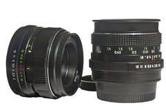 φακός δύο φωτογραφικών μηχανών Στοκ Εικόνες
