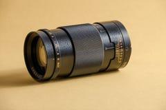 Φακός στη κάμερα 135mm στοκ φωτογραφία με δικαίωμα ελεύθερης χρήσης
