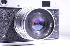 Φακός της παλαιάς μεμβράνης καμερών Στοκ φωτογραφία με δικαίωμα ελεύθερης χρήσης