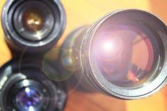 φακός φωτογραφικός Σύγχρονοι φακοί καμερών με τις αντανακλάσεις Σύγχρονοι φακοί καμερών με τις αντανακλάσεις στοκ εικόνα με δικαίωμα ελεύθερης χρήσης