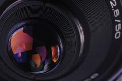 φακός φωτογραφικών μηχανών Στοκ εικόνες με δικαίωμα ελεύθερης χρήσης