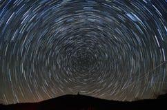 φαλακρά ίχνη αστεριών brasstown Στοκ φωτογραφία με δικαίωμα ελεύθερης χρήσης