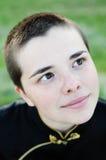 φαλακρές νεολαίες γυν&alph στοκ φωτογραφία με δικαίωμα ελεύθερης χρήσης