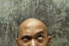 φαλακρό κεφάλι Στοκ Φωτογραφίες