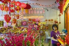 Φανάρια της ΚΟΥΆΛΑ ΛΟΥΜΠΟΎΡ, ΜΑΛΑΙΣΙΑ †«στις 23 Ιανουαρίου 2011 για το κινεζικό νέο έτος Στοκ εικόνα με δικαίωμα ελεύθερης χρήσης