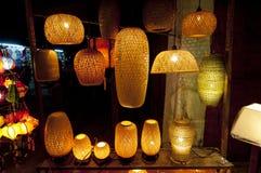 Φανάρια Handcrafted στην αρχαία πόλη Hoi, Βιετνάμ Στοκ φωτογραφία με δικαίωμα ελεύθερης χρήσης