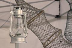 Φανάρι και δίχτυ επιφανείας Στοκ Εικόνες