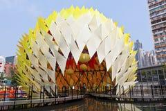 Φανάρι καρναβάλι μέσος-φθινοπώρου στο Χογκ Κογκ Στοκ Εικόνες