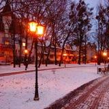 Φανάρι πόλεων Στοκ φωτογραφία με δικαίωμα ελεύθερης χρήσης