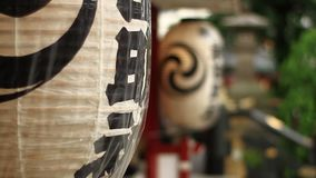Φανάρι στη λάρνακα Kanda στο Τόκιο φιλμ μικρού μήκους