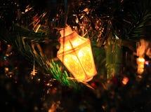 Φανάρι Χριστουγέννων Στοκ Εικόνες