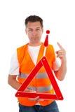 φανέλλα ασφάλειας ατόμων Στοκ φωτογραφία με δικαίωμα ελεύθερης χρήσης