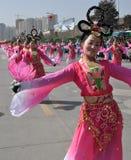 Κινεζικός χορός Στοκ Εικόνες