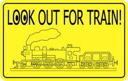 φανείτε έξω τραίνο Στοκ φωτογραφίες με δικαίωμα ελεύθερης χρήσης