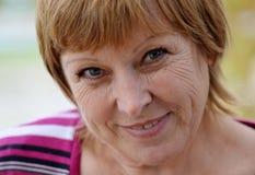 Φανείτε ευτυχής γυναίκα Στοκ φωτογραφίες με δικαίωμα ελεύθερης χρήσης
