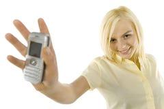 φανείτε κινητός η οθόνη του s μου Στοκ φωτογραφίες με δικαίωμα ελεύθερης χρήσης