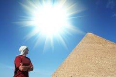 φανείτε πυραμίδα ατόμων Στοκ φωτογραφία με δικαίωμα ελεύθερης χρήσης