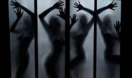 φαντάσματα χορού Στοκ εικόνα με δικαίωμα ελεύθερης χρήσης