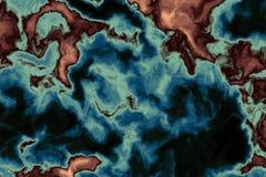 φαντασία ΙΙ χάρτης διανυσματική απεικόνιση