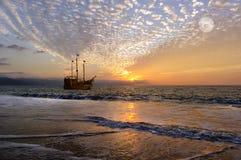 Φαντασία σκαφών πειρατών Στοκ Εικόνα