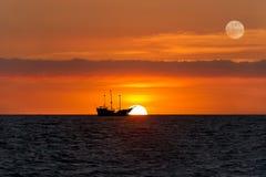 Φαντασία σκαφών πειρατών Στοκ φωτογραφίες με δικαίωμα ελεύθερης χρήσης