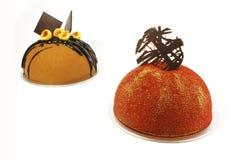 φαντασία σοκολάτας κέικ στοκ φωτογραφία