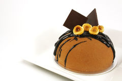 φαντασία σοκολάτας κέικ στοκ φωτογραφία με δικαίωμα ελεύθερης χρήσης