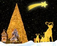φαντασία Χριστουγέννων Στοκ φωτογραφίες με δικαίωμα ελεύθερης χρήσης