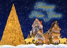 φαντασία Χριστουγέννων Στοκ Εικόνα