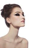 Φαντασία eyeliner Στοκ Εικόνες