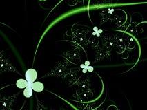 φαντασία floral Στοκ εικόνες με δικαίωμα ελεύθερης χρήσης