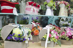 Φαντασία flowershop Στοκ φωτογραφία με δικαίωμα ελεύθερης χρήσης