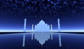 Φαντασία Mahal Taj στοκ φωτογραφία