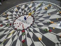 Φανταστείτε το κεντρικό πάρκο Νέα Υόρκη στοκ εικόνες