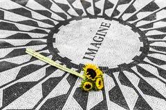 Φανταστείτε το μνημείο στο Central Park στοκ φωτογραφία με δικαίωμα ελεύθερης χρήσης