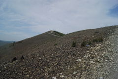 Φανταστικά βουνά όπως στο σουρεαλησμό Στοκ εικόνες με δικαίωμα ελεύθερης χρήσης