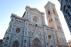 Φανταστικά όμορφος καθολικός καθεδρικός ναός στη Φλωρεντία στοκ φωτογραφία με δικαίωμα ελεύθερης χρήσης