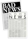 φανταστικές εφημερίδες Στοκ εικόνα με δικαίωμα ελεύθερης χρήσης